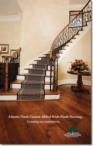 Wide Plank Flooring | Atlantic Hardwoods